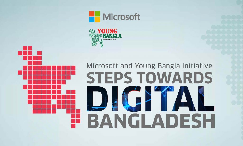 digital bangladesh Digital bangladesh- this slogan carries a great significance for the govt of bangladesh in order to ensure the development of bangladesh through digitalization as a part of this continuous process digital world-2017 a mega ict event is going to take place at bangabandhu international conference center (bicc), agargaon, dhaka.